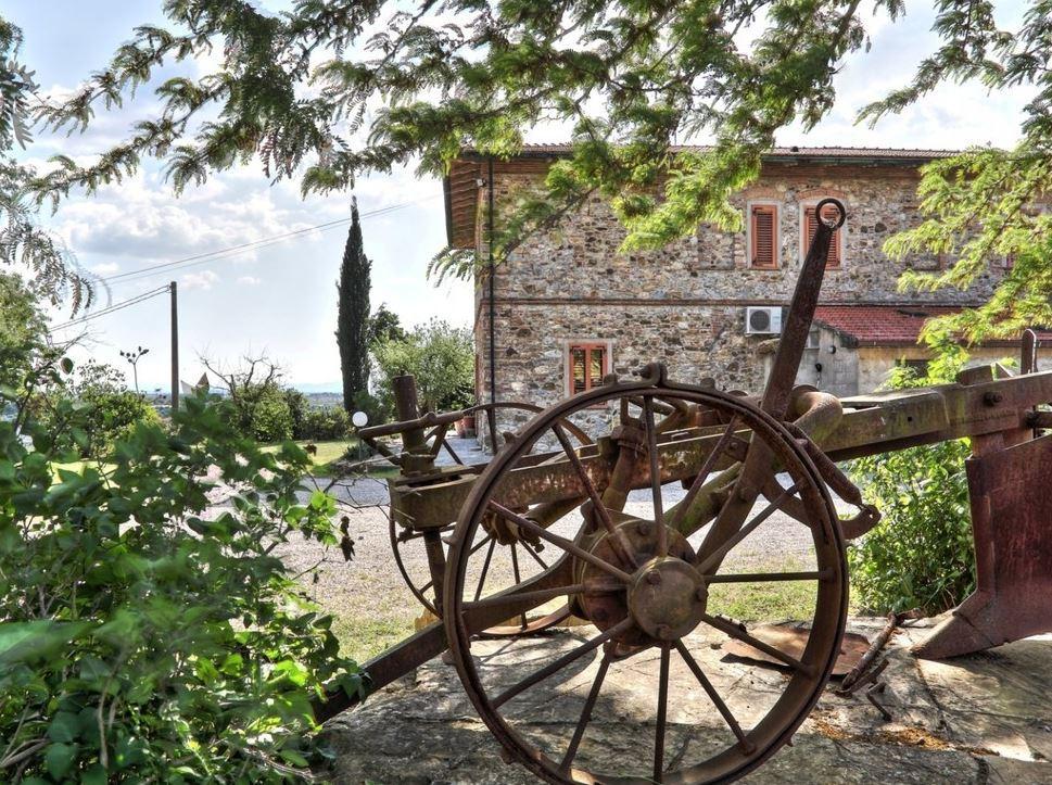 Винодельческое хозяйство в Тоскане