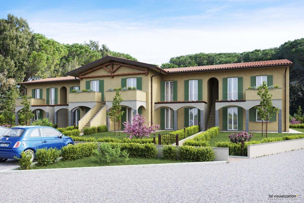 Новый резиденциальный комплекс в Тоскане